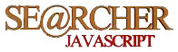 Искатель Javascript. Главная страница